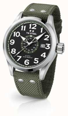 TW Steel Heren volante army green 45mm VS21