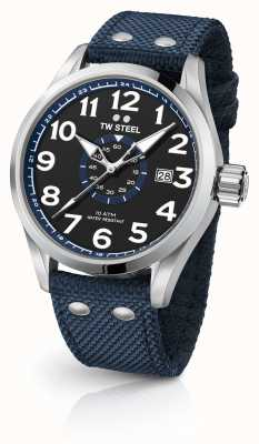 TW Steel Heren volante blauw 48mm VS32