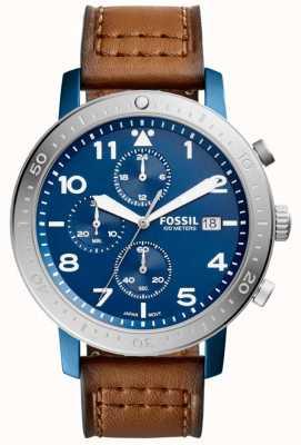 Fossil Mannen de grote chronograaf blauw CH3085