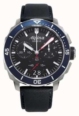 Alpina Mens seastrong duiker 300 grote datum AL-372LBN4V6