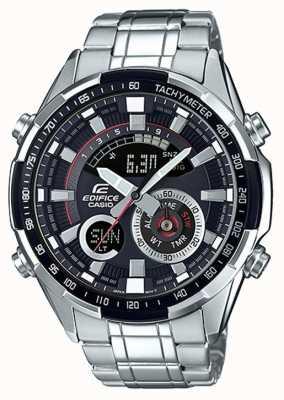 Casio Edifice horloge met tachymeter chronograaf ERA-600D-1AVUEF