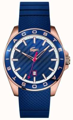 Lacoste Mens Westport Blauw Rubberband 2010906
