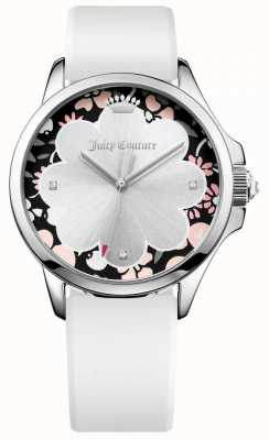 Juicy Couture Dames jetsetter witte siliconen band 1901568