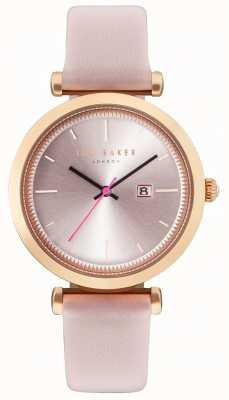 Ted Baker Womans ava 36mm roos goud geval roze horloge TE10031518