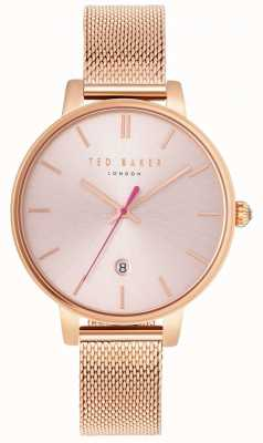 Ted Baker Womans kate rose goud mesh armband TE10031548