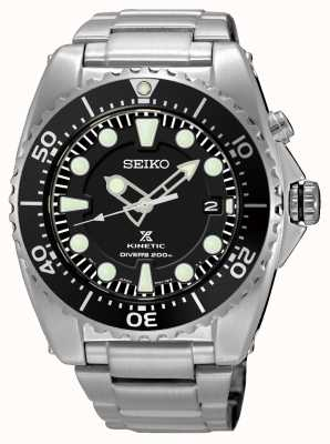 Seiko Mens prospex kinetic divers stainless steel bracelet SKA761P1