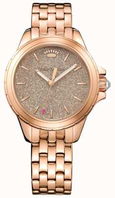 Juicy Couture Womans malibu ronde roze gouden toon armband 1901594