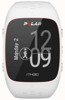 Polar M430 wit rubberen sporthorloge 90064407
