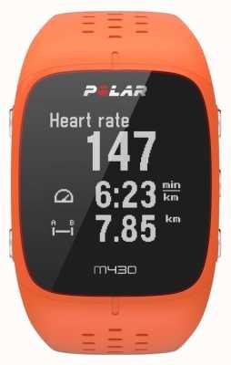 Polar M430 oranje rubberen sporthorloge 90064410