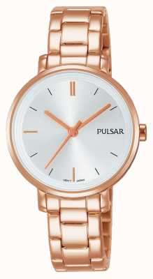 Pulsar Womans roos verguld roestvrij staal armband PH8340X1