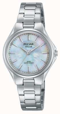 Pulsar Dames roestvrij stalen armband parelmoer wijzerplaat PY5031X1