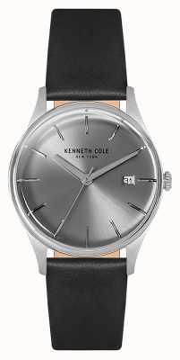 Kenneth Cole Womans 35mm roestvrij stalen behuizing zilver KC15109004