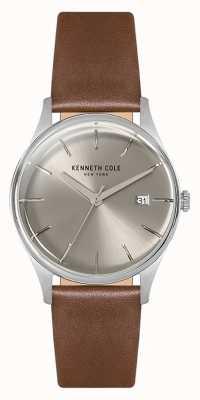 Kenneth Cole Womans 35mm roestvrij stalen behuizing zilver KC15109005