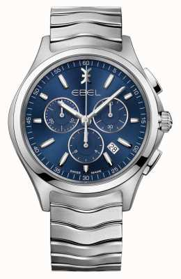 EBEL Wave Gents Blue Dial Chronograph horloge 1216344
