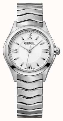 EBEL Wave dameshorloge van roestvrij staal 1216374