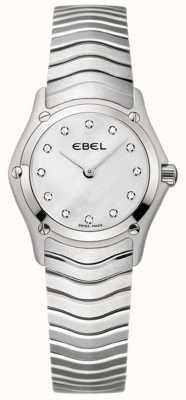 EBEL Klassiek vrouwen roestvrij stalen horloge 1215421