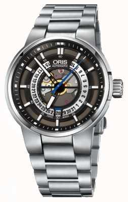 Oris Williams motor datum automatisch roestvrij staal 01 733 7740 4154-07 8 24 50S