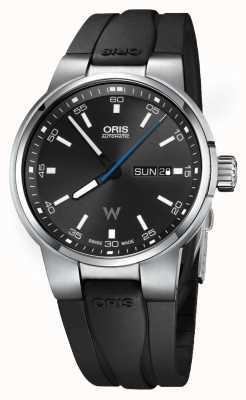 Oris Williams motordatum datum automatisch rubber 01 735 7740 4154-07 4 24 54FC