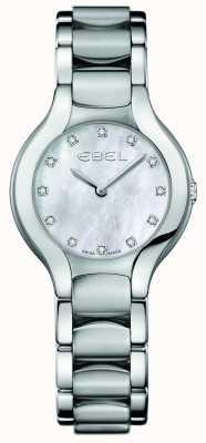 EBEL Dames beluga diamanten set van roestvrij staal 1216038
