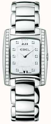 EBEL Vrouwen brasilia diamant roestvrij staal 1215607