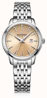 Dreyfuss Womans champagnewiel stalen armband DLB00125/25