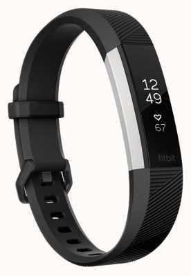 Fitbit Alta hr - zwart, groot FB408SBKL-EU