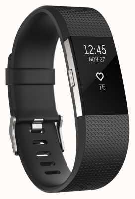 Fitbit Charge 2 - zwart, groot FB407SBKL-EU