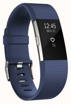 Fitbit Charge 2 - blauw, klein FB407SBUS-EU