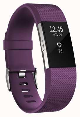 Fitbit Charge 2 - pruim, klein FB407SPMS-EU