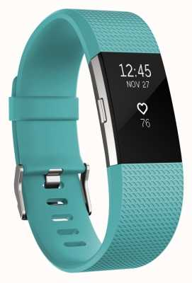 Fitbit Charge 2 - teal, klein FB407STES-EU