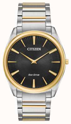 Citizen | heren | stiletto ultradun | tweekleurige armband | AR3074-54E