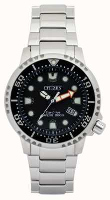 Citizen Mens eco-drive promaster duikers roestvrij staal BN0150-61E