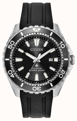 Citizen Mens eco-drive promaster duikers rubberen band BN0190-07E