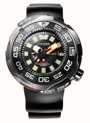 Citizen Promaster Marine 1000m Eco-Drive Divers Rubberband BN7020-17E
