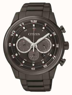 Citizen Mens eco-drive chronograaf zwarte ip CA4035-57E
