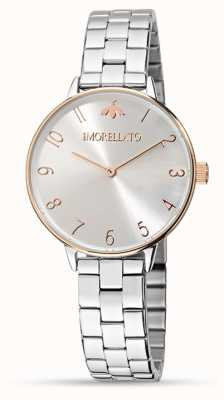 Morellato Vrouwen ninfa roos goud detail horloge R0153141504