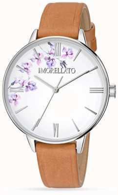 Morellato Vrouwen ninfa bruin lederen horloge R0151141507