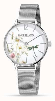 Morellato Vrouwen ninfa roestvrij staal mesh horloge R0153141507