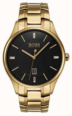 Hugo Boss Gouverneur goud armband horloge 1513521