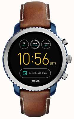 Fossil Mens sport q explorist smartwatch FTW4004