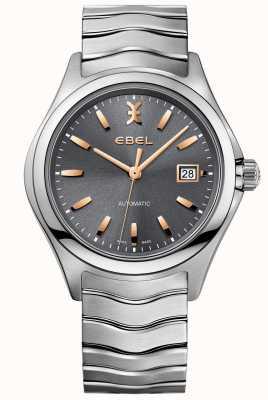 EBEL Wave horloge roestvrij staal zilver toon 1216383