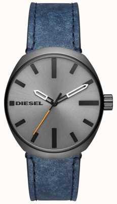 Diesel Herenkoppel pistoolmetaal DZ1832