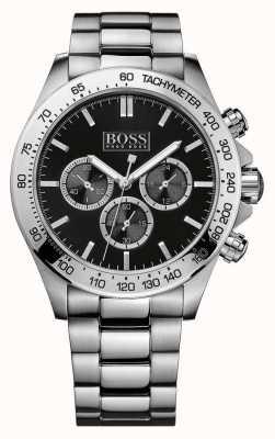 Boss Ikon chronograaf roestvrij staal 1512965