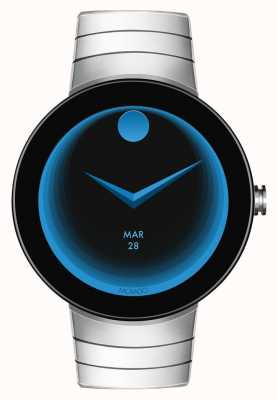 Movado Sluit roestvrijstalen armband smartwatch aan 3660017