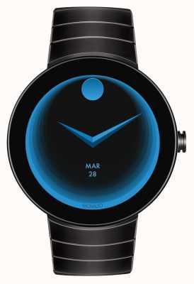 Movado Sluit zwarte zwart-ip-gecodeerde smartwatch aan 3660015