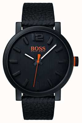 Hugo Boss Orange Heren bilbao horloge in zwart 1550038
