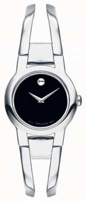 Movado Womans amorosa zilveren toon staal armband 0604759