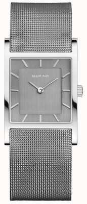 Bering Womans klassieke vierkante zilveren milanese band 10426-309-S