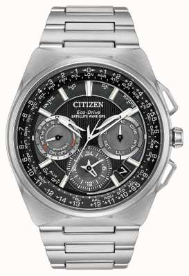 Citizen F900 satellietgolf gps chronograaf super titanium CC9008-50E