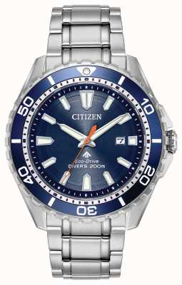 Citizen Eco-drive mens promaster duikers datum 200m BN0191-55L